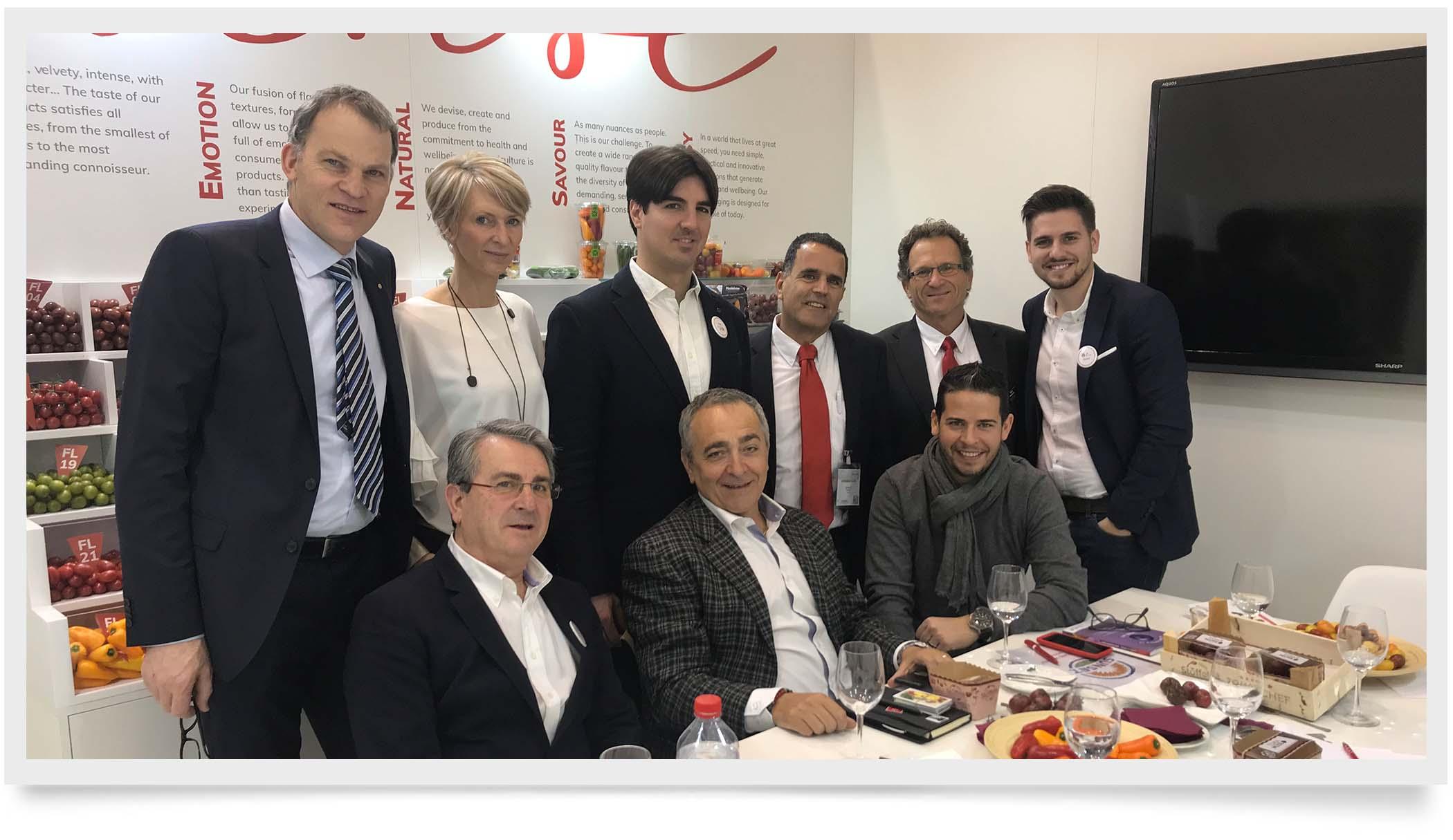 team around the table